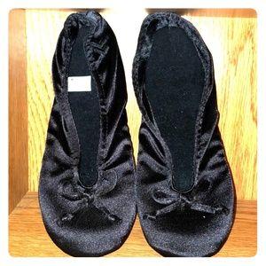 Black Isotoner Slippers